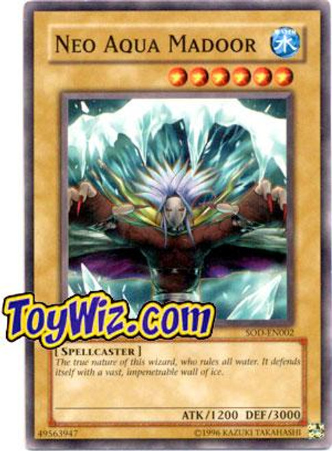 YuGiOh Soul of the Duelist Common Neo Aqua Madoor SOD-EN002