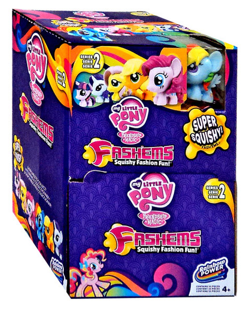 my little pony friendship is magic my little pony fashems series 2 mystery box tech4kids toywiz. Black Bedroom Furniture Sets. Home Design Ideas