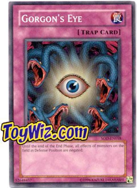 YuGiOh Soul of the Duelist Common Gorgon's Eye SOD-EN058