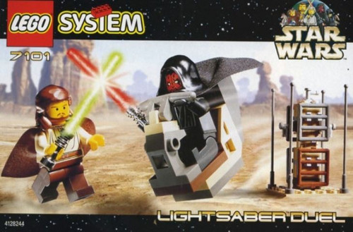 LEGO Star Wars The Phantom Menace Lightsaber Duel Set #7101