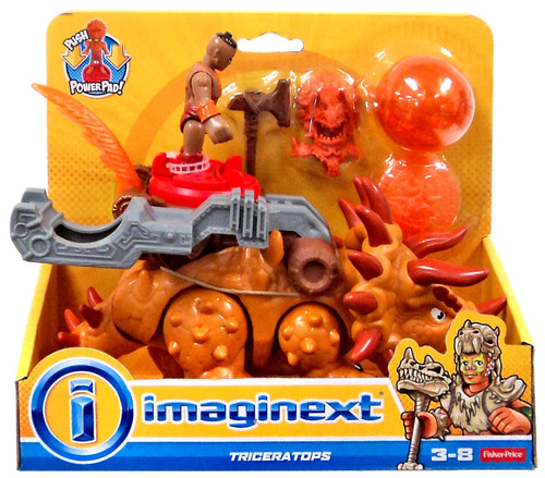 Warriors By Imagine Dragons Halo: Fisher Price Imaginext Triceratops Action Figure
