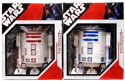 Star Wars Electronics Set of R2-Unit Light Scene Projectors