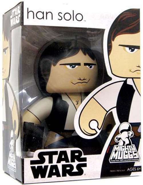 Star Wars A New Hope Mighty Muggs Wave 1 Han Solo Vinyl Figure