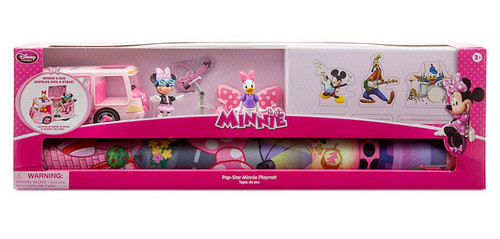Disney Minnie Mouse Pop Star Minnie Mouse Playmat Playset
