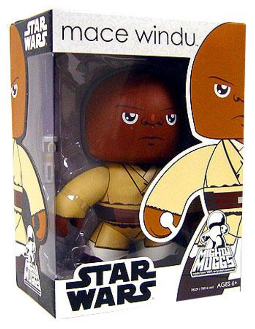 Star Wars The Phantom Menace Mighty Muggs Wave 2 Mace Windu Vinyl Figure