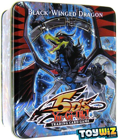 YuGiOh 5D's 2010 Collector Tin Black-Winged Dragon Collector Tin [Sealed]