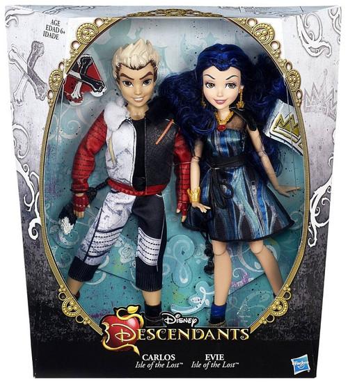 Disney Descendants Carlos Evie 11 Doll 2 Pack Hasbro Toys