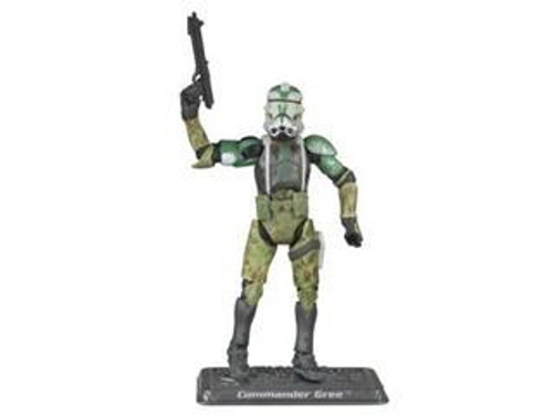 Star Wars Revenge of the Sith 30th Anniversary 2008 Wave 1 Commander Gree Action Figure #3