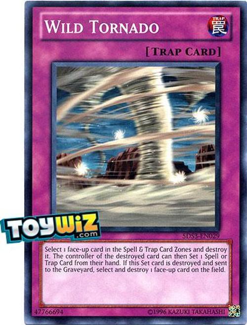 YuGiOh 5D's 2010 Duelist Toolbox Common Wild Tornado #5DS3-EN029