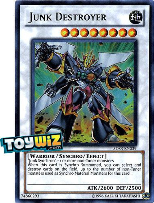 YuGiOh 5D's 2010 Duelist Toolbox Ultra Rare Junk Destroyer #5DS3-EN039