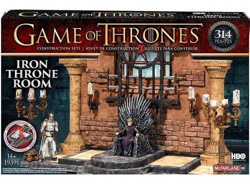 Mcfarlane Toys Game Of Thrones Iron Throne Room