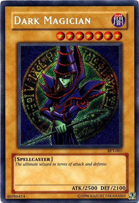YuGiOh 2003 Collector Tin Secret Rare Dark Magician BPT-007