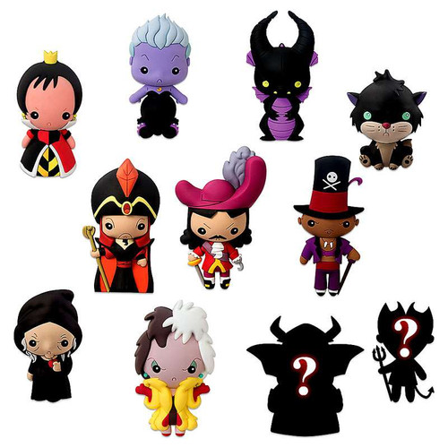 Disney 3d Figural Keychain Disney Villains Series 1