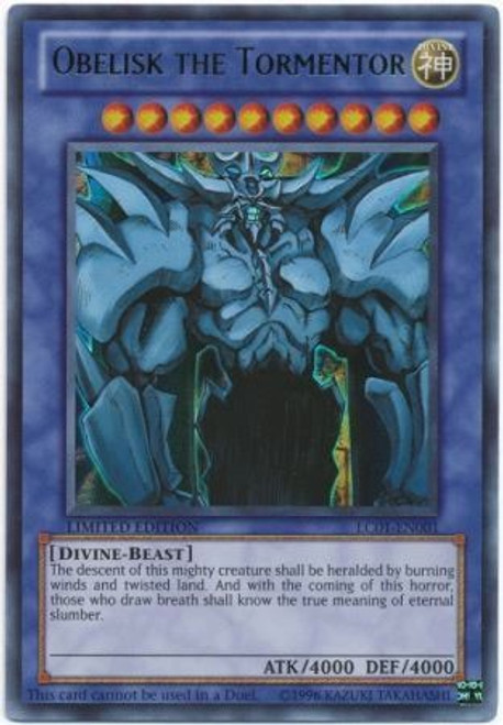 YuGiOh Legendary Collection 1 Ultra Rare Obelisk the Tormentor LC01-EN001
