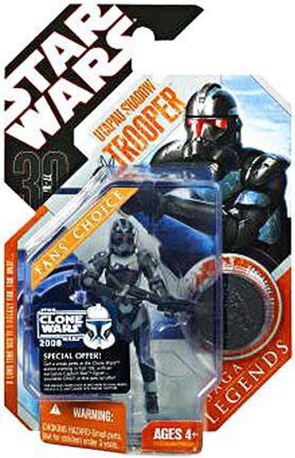 Star Wars Revenge of the Sith Saga Legends 2007 30th Anniversary Utapau Shadow Trooper Action Figure #33