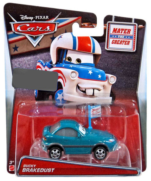 Disney Cars Mater The Greater Bucky Brakedust Exclusive