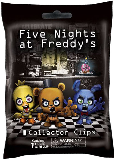 Five Nights At Freddys Fnaf Hangers Series 1 Mystery Pack