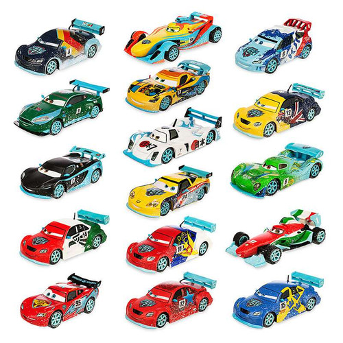 Disney Cars 143 Deluxe Sets Ultimate Ice Racing Exclusive