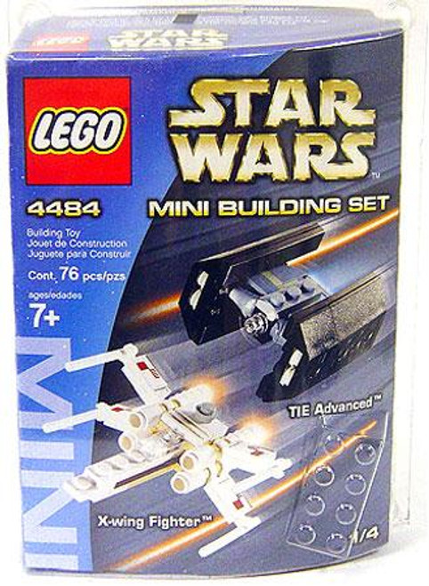 LEGO Star Wars Return of the Jedi Mini Building Sets X-Wing Fighter & TIE Advanced Set #4484