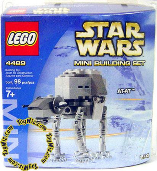 LEGO Star Wars The Empire Strikes Back Mini Building Sets AT-AT Set #4489