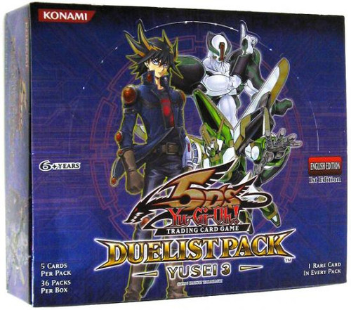 YuGiOh Duelist Pack Yusei 3 Booster Box [Sealed]