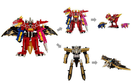Power Rangers Dino Charge Zord Builder Ptera Charge Dino