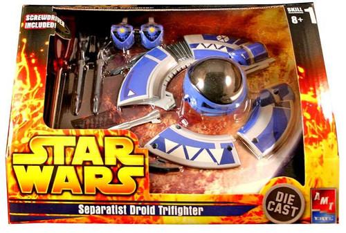 Star Wars Model Kits Separatist Droid Tri-Fighter Diecast Model Kit