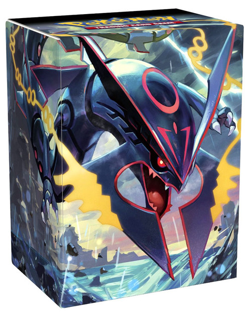 Pokemon card supplies shiny mega rayquaza deck box pokemon - Lego pokemon rayquaza ...