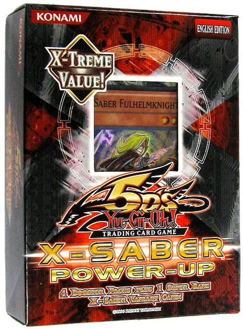 YuGiOh X-Saber Power-Up Edition X-Saber Power-Up Special Edition Pack [Sealed]
