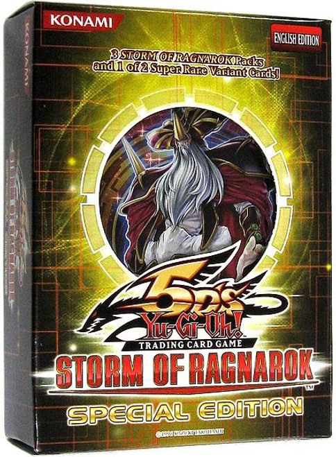 YuGiOh Storm of Ragnarok Special Edition Pack [Sealed]