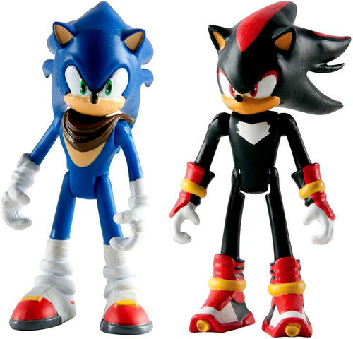 Sonic the hedgehog sonic boom sonic shadow 3 action figure 2 pack tomy