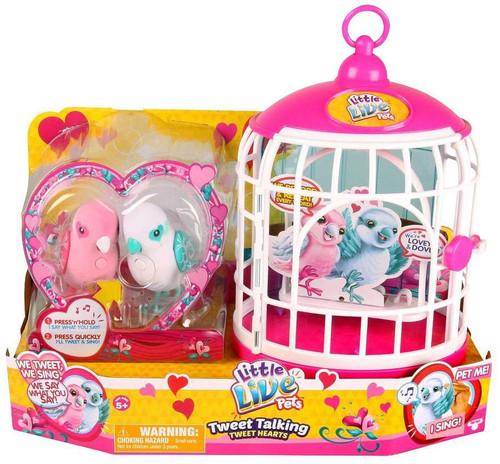 Walmart Toys Birds : Little live pets tweet talking birds hearts