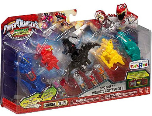 Power rangers dino super charge charge it up dino charger ultimate power pack 3 exclusive 97348 - Sonic power rangers dino charge ...