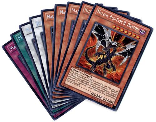 YuGiOh Set of All 9 Bonds Beyond Time Secret Rare Single Cards