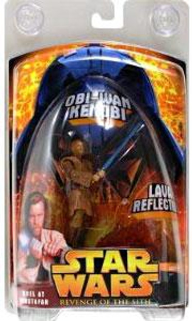 Star Wars Revenge of the Sith 2005 Duel at Mustafar Obi-Wan Kenobi Exclusive Action Figure