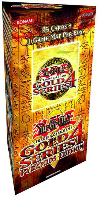 YuGiOh Gold Series 4 2011 Booster Pack