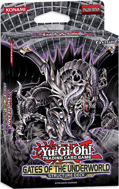 YuGiOh Structure Deck: Gates of the Underworld Gates of the Underworld Structure Deck [1st Edition] [Sealed Deck]