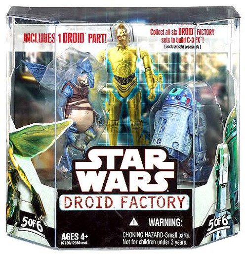 Star Wars The Phantom Menace Droid Factory 2008 Watto & R2-T0 Exclusive Action Figure 2-Pack