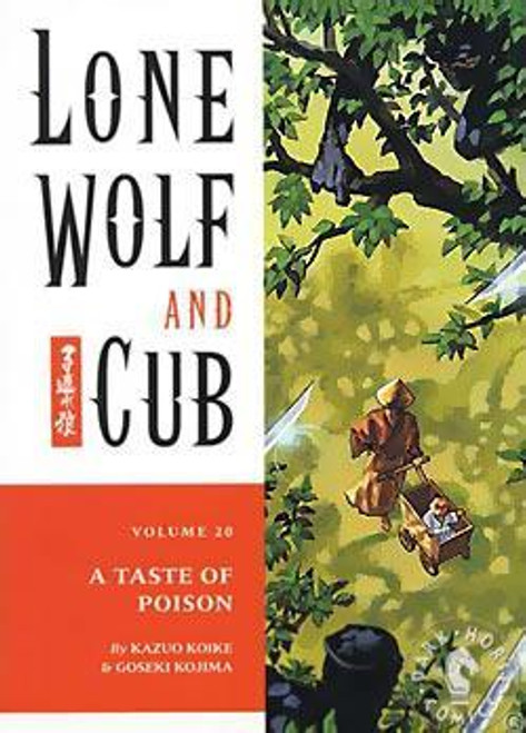 Akira Manga Lone Wolf and Cub A Taste of Poison Comic Book [Volume 20]