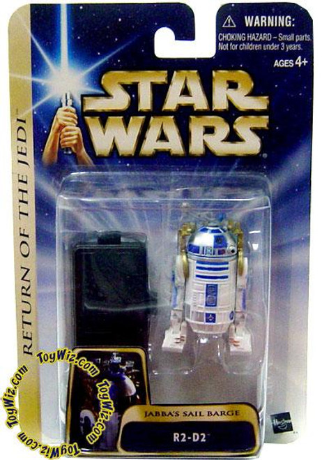 Star Wars Return of the Jedi Basic 2004 R2-D2 Action Figure #05 [Jabba's Sail Barge]