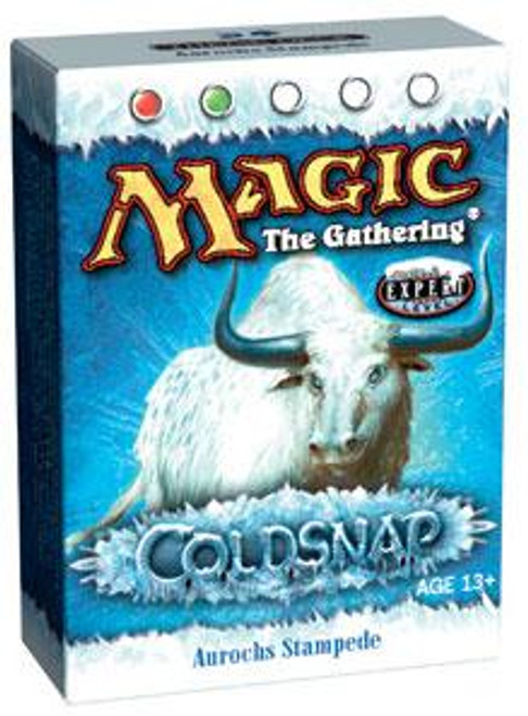 MtG Coldsnap Aurochs Stampede Theme Deck [Sealed Deck]