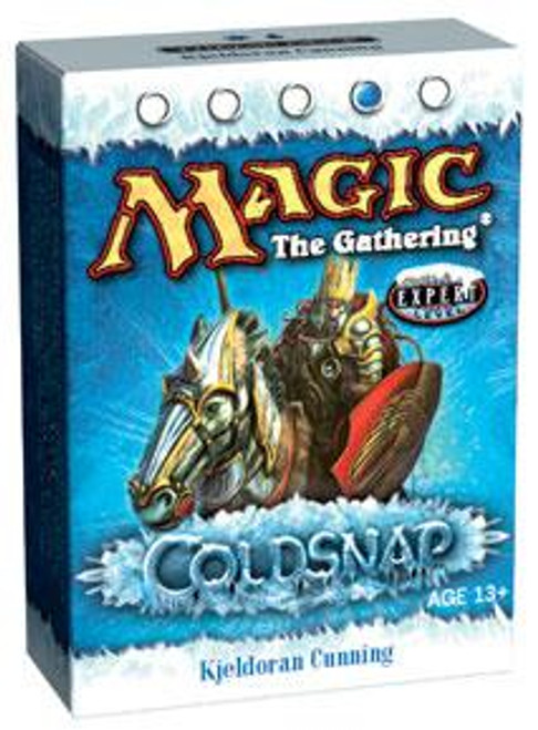 MtG Coldsnap Kjeldoran Cunning Theme Deck [Sealed Deck]