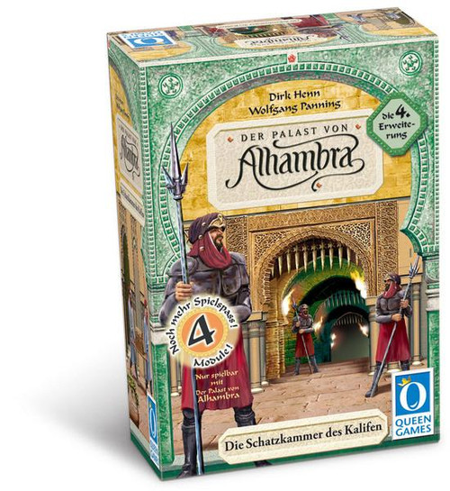 Alhambra Calif's Treasure Chamber Board Game Expansion #4