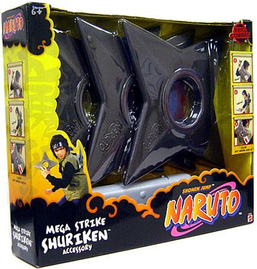 Naruto Mega Strike Shuriken Roleplay Toy