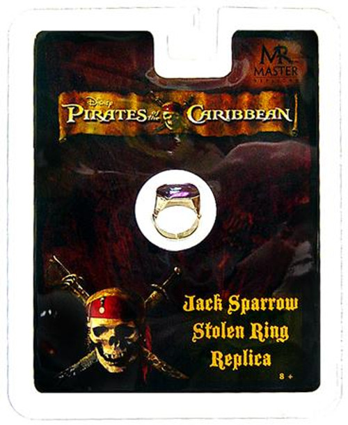 Pirates of the Caribbean Jack Sparrow Stolen Ring