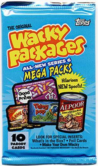 Wacky Packages Series 6 Trading Card Sticker Pack