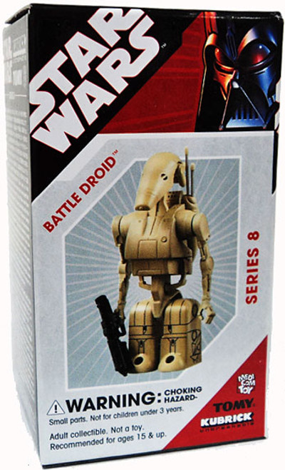 Star Wars The Phantom Menace Kubrick Series 8 Battle Droid Mini Figure