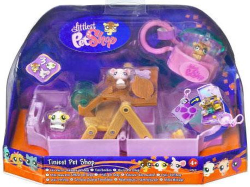 Littlest Pet Shop Tiniest Pet Shop Rodent Playset [Damaged Package, Mint Contents]