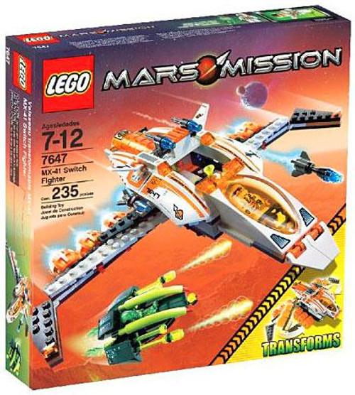 LEGO Mars Mission MX-41 Switch Fighter Set #7647