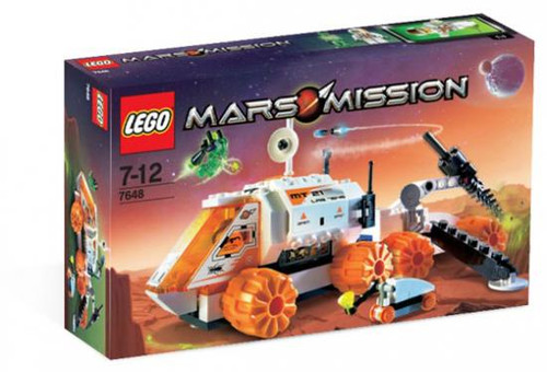 LEGO Mars Mission Mobile Mining Unit Set #7648